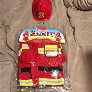 Kids firefighter costume ages 3-6